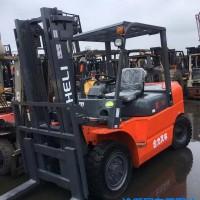 转让2吨2.5吨3吨5吨手动搬运柴油二手叉车 合力二手品质保证市场