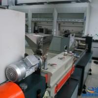 SHJ20型 双螺杆塑料改性实验 小型实验机厂家    双螺杆 塑料改性造粒机厂家   塑料抽粒机价格价格