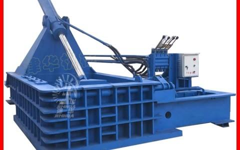 废钢压块机 废钢处理 废铁压块机 废铁剪切机 YB-160型 废钢打包机价格