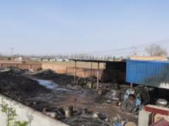 回购一场废金属回收站的灾难发生一幕