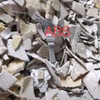 供应白色ABS粉碎料 汕头白色ABS粉碎料