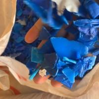 出售蓝桶破碎料 廊坊市蓝桶破碎料